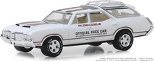 1:64 1970 Oldsmobile Vista Cruiser 54th Annual Indianapolis 500 Mile Race Oldsmobile Official Pace Car (Hobby Exclusive)