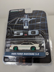 1:64 Anniversary Collection Series 7 - 1989 Ford Mustang 5.0 25 Years Green Machine