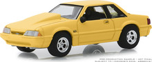 """1:64 BFGoodrich Vintage Ad Cars - 1988 Ford Mustang 5.0 """"Our Engineering Lab Has A New Smoking Section"""" (Hobby Exclusive)"""