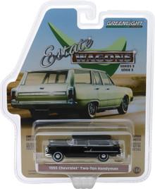 1:64 Estate Wagons Series 3 - 1955 Chevrolet Two-Ten Handyman - Onyx Black