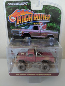 1:64 High Roller II Dusty Edition 1979 Ford F-350 Monster Truck