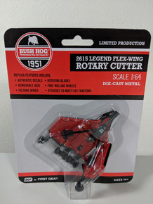 1:64 Bush Hog 2615 Flex Wing Rotary Cutter by First Gear for DCP