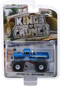 1:64 Kings of Crunch Series 4 - Above N Beyond - 1978 Ford F-250 Monster Truck