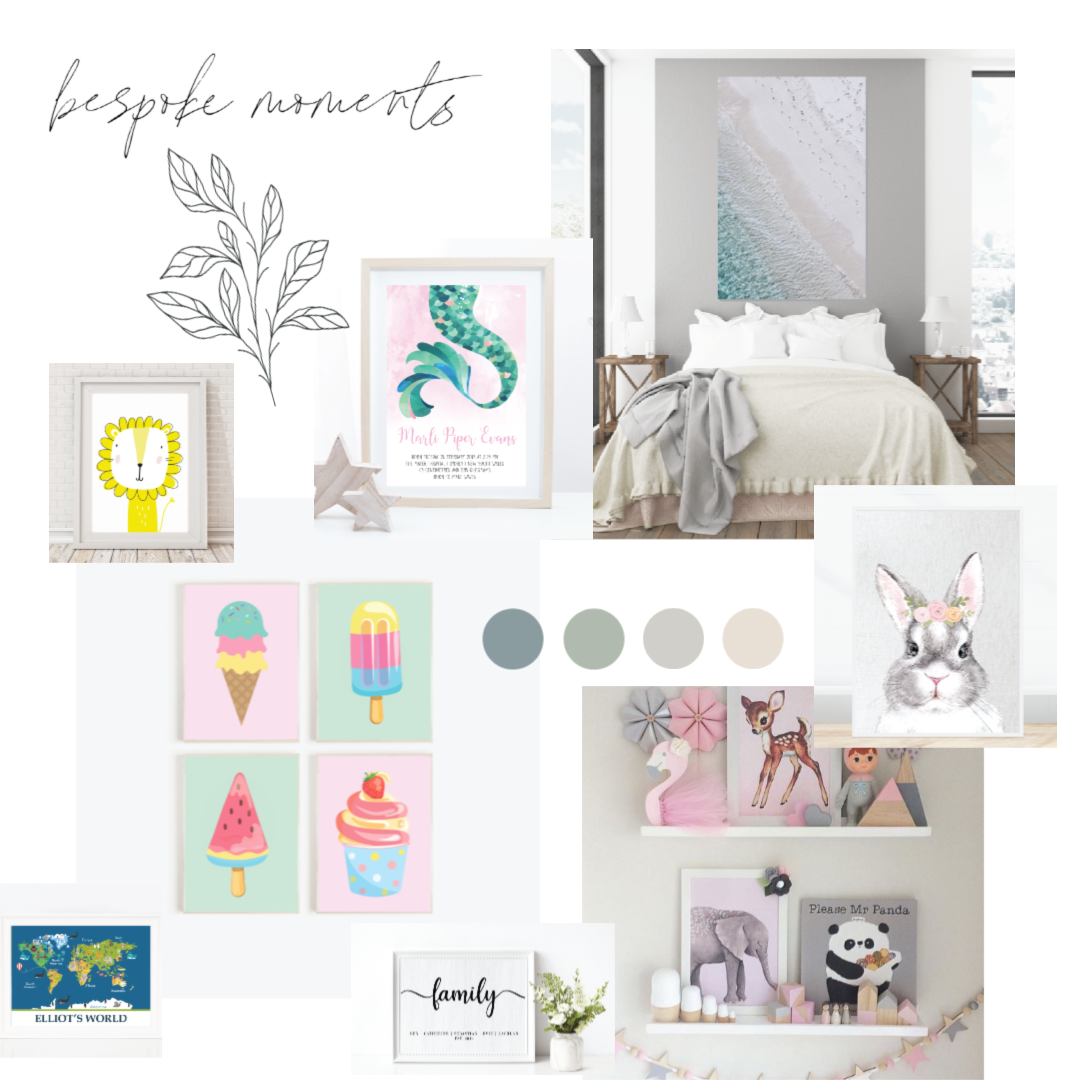 Bespoke Moments Mood Board