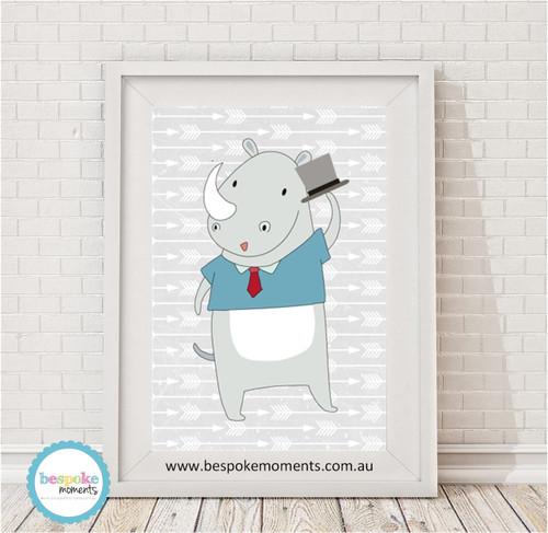 Hipster Rhino