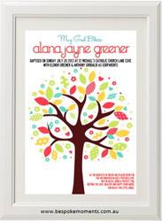 Tree Christening Print