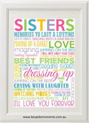 Rainbow Sisters Print