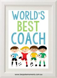 Product image of World's Best Sport Coach Print