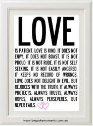 Love Is...Print