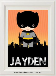 Product image of Superhero Name Print