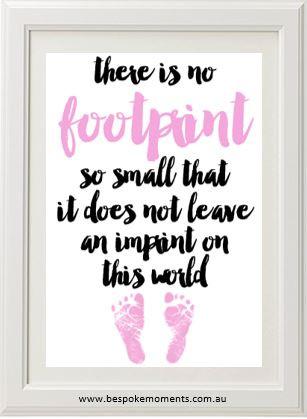 Product image of Pink Footprint Print