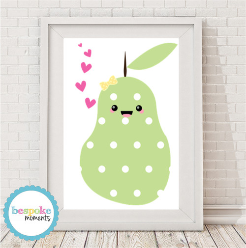 Product image of Kawaii Pear Print
