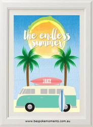 Product image of Endless Summer Name Print