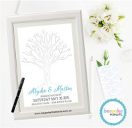 Wedding Fingerprint Tree 1