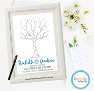 Wedding Fingerprint Tree 3