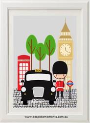 Best of London Print