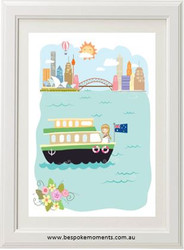 Iconic Sydney Girls' Print