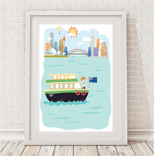 Product image of Iconic Sydney Boys' Print