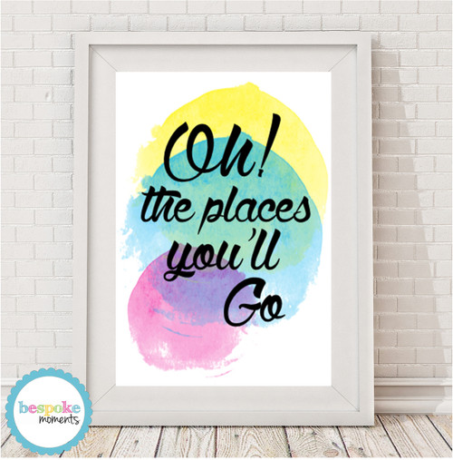 Product image of Oh The Places You'll Go Print