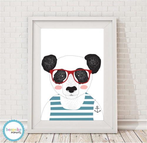 Product image of Hipster Panda Print