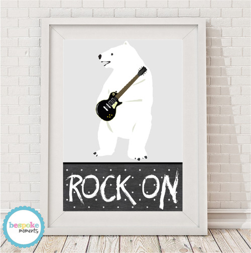 Product image of Rock On Polar Bear Print