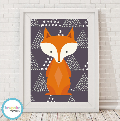 Product image of Woodland Fox Print
