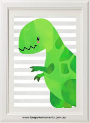 Dinosaur Print - Green