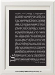 Bob Marley Quote Print