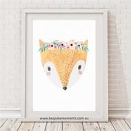 Pretty Fox Print