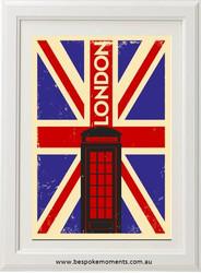 Vintage City Print - London