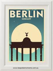 Vintage City Print - Berlin