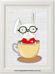 Teacup Bunny Print