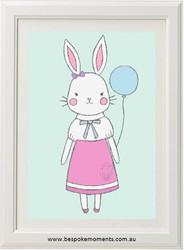 Polly Bunny Print