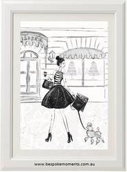 Parisian Grande Rue Print