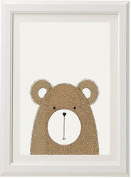 Neutral Bear Print