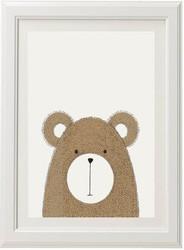 Neutral Bear Print