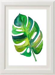 Monstera Leaf Print - 1