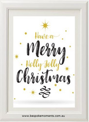 Holly Jolly Christmas Print