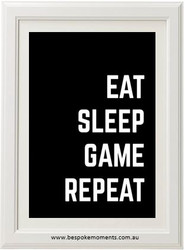 Eat, Sleep, Game, Repeat