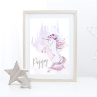 Mystic Unicorn Name Print