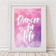 Dancer For Life Print