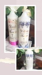 NEW:  Baptism Candles