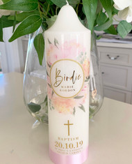The Birdie Baptism Candle