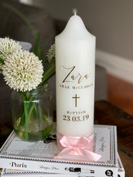 The Zara Baptism Candle