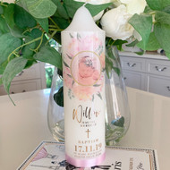 The Willow Baptism Candle