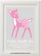 Deer Birth Print
