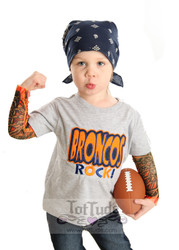 Broncos Rock Tattoo Tee