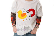 Chick Magnet Tattoo Sleeve Shirt