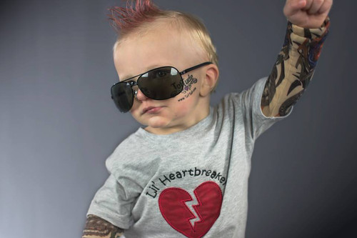 Lil Heartbreaker Valentine Tattoo Sleeve Shirt