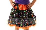 Halloween Polka Dot Pettiskirt
